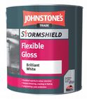 Johnstone's Stormshield Flexible Gloss Black 2.5 Litres